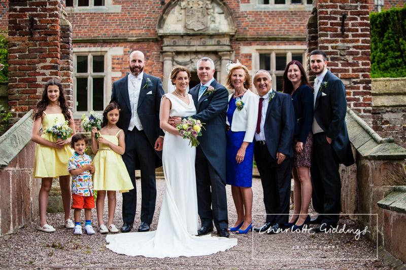 soulton hall wedding photographer family formals