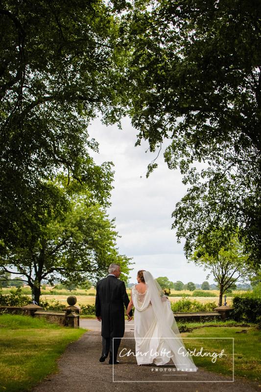 bride and groom portrait soulton hall