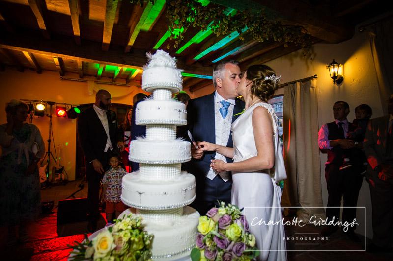 cutting the cake soulton hall shropshire