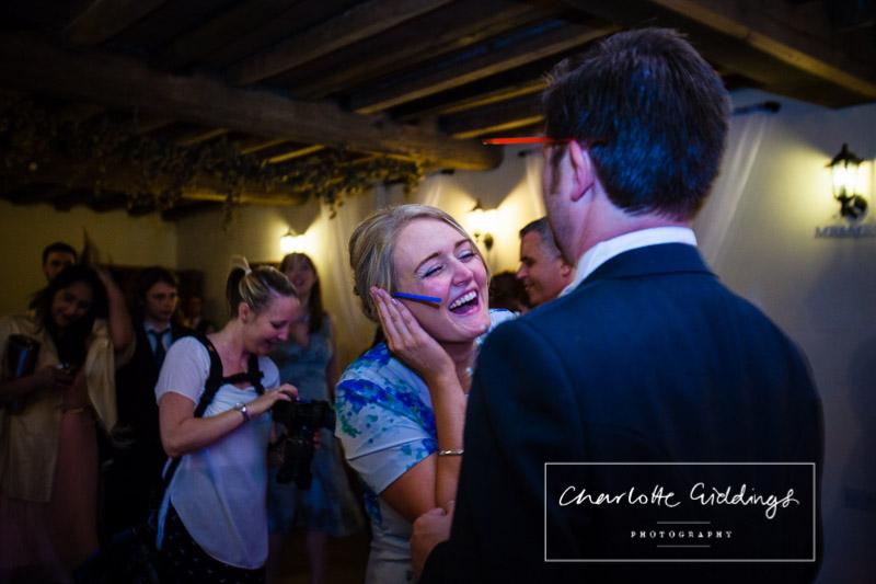 giggles at soulton hall wedding
