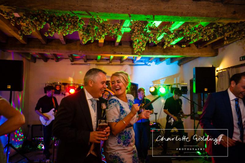 fun evening soulton hall wedding photographer