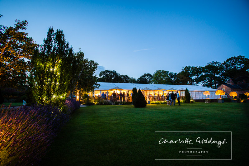 combermere abbey illuminated during august wedding - summer wedding combermere abbey