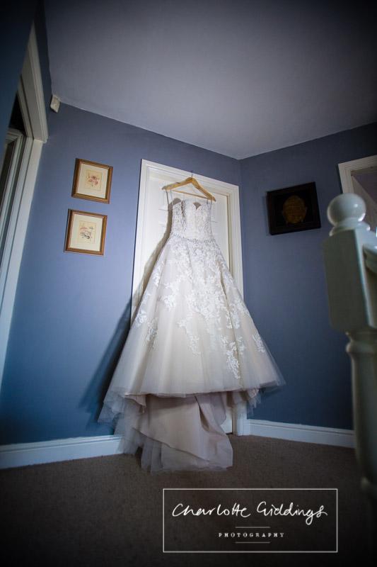Tiffany's wardrobe dress - Heaton House Farm Wedding