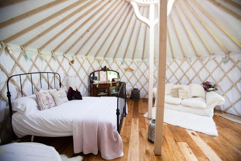 change angle GG's Yurt