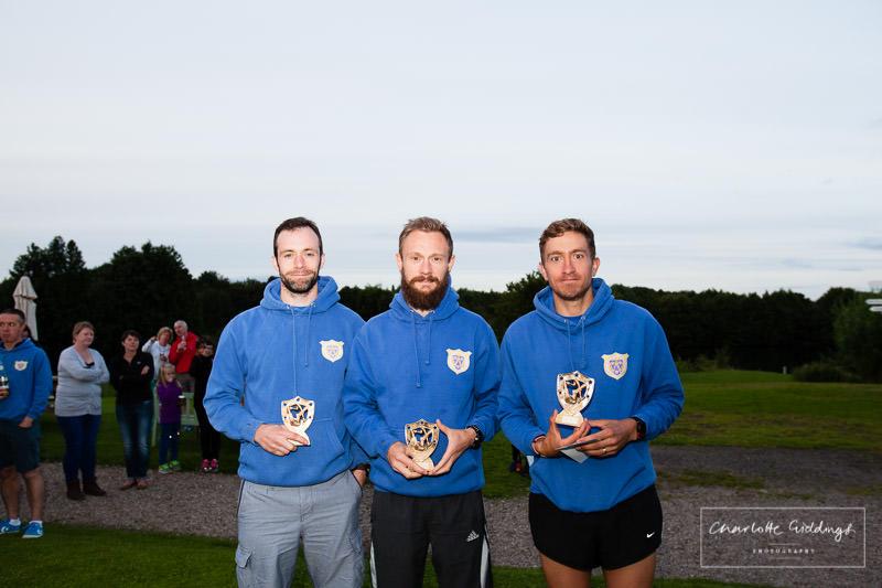 fastest male team winners - dearnford lake relay event 2016