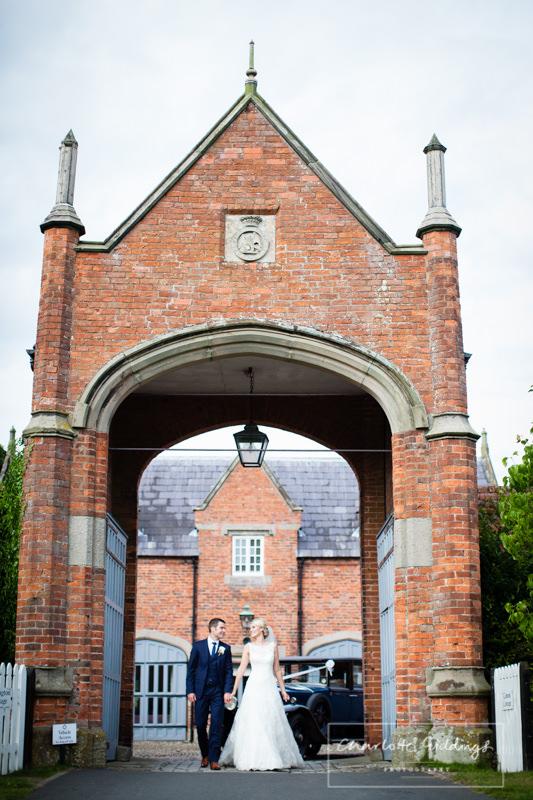 bride and groom shropshire wedding photographer