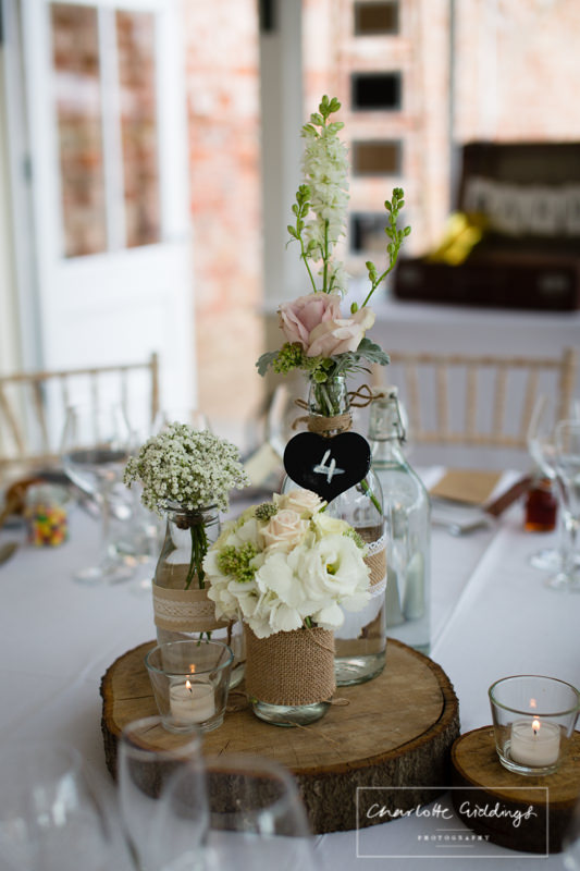 details on tables at combermere abbey