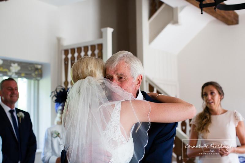special bind grandad and granddaughter