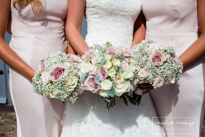 floral bouquets at combermere abbey