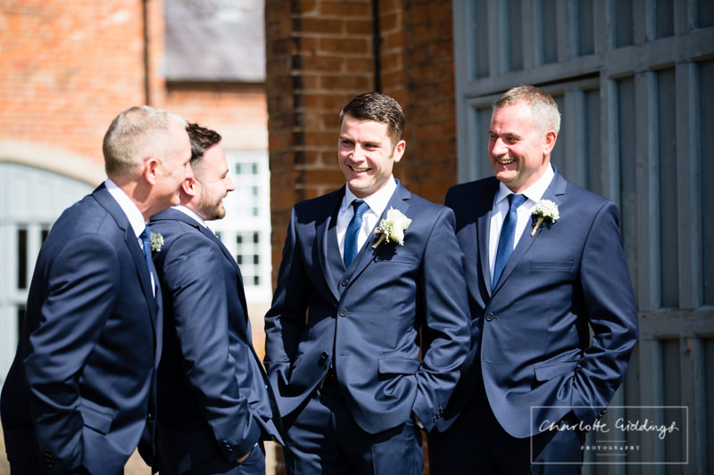 groom with his grooms men