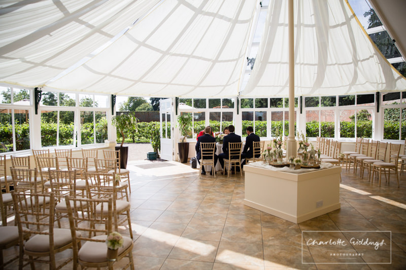 meeting the registrar in the glasshouse combermere abbey