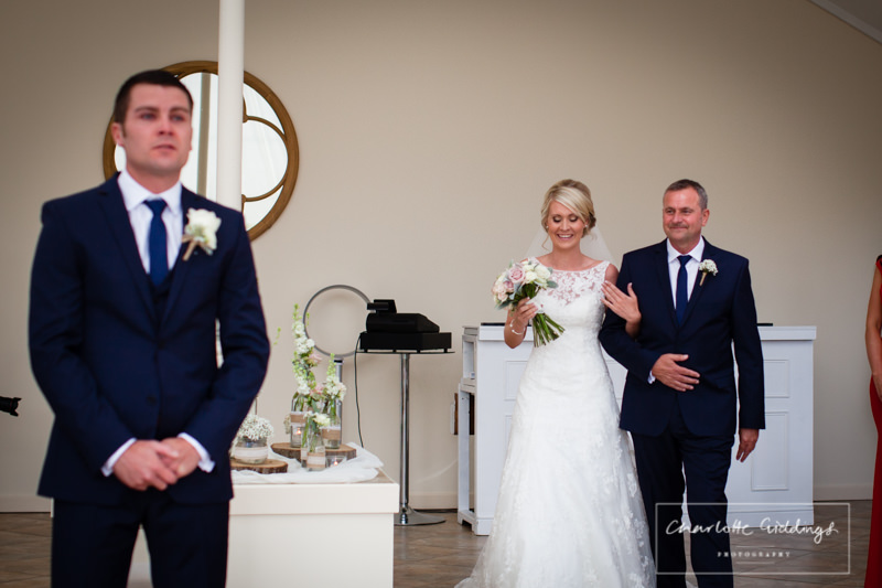emotional groom at combermere abbey