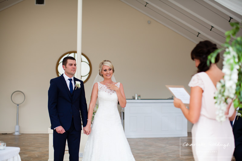 emotional bride at combermere abbey