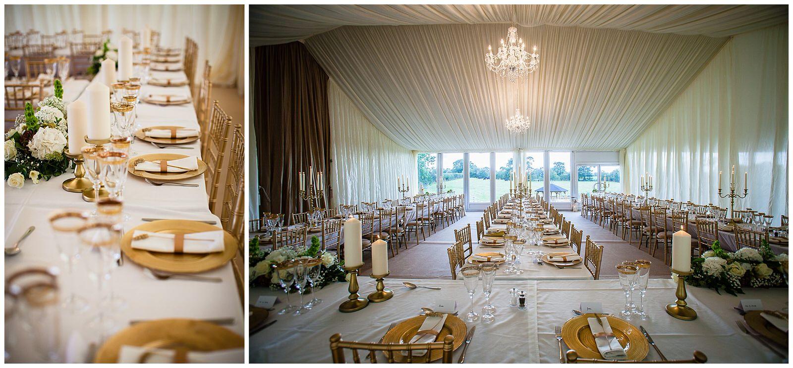 October Gold themed marquee wedding - Shropshire Wedding Photographer
