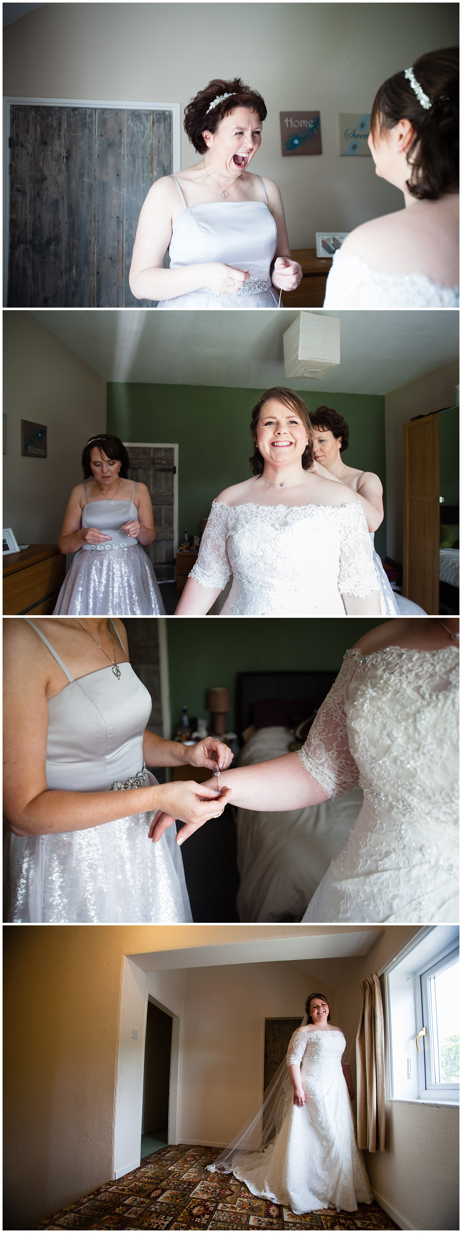 bridal preparations at home in summer, in shropshire - charlotte giddings photography