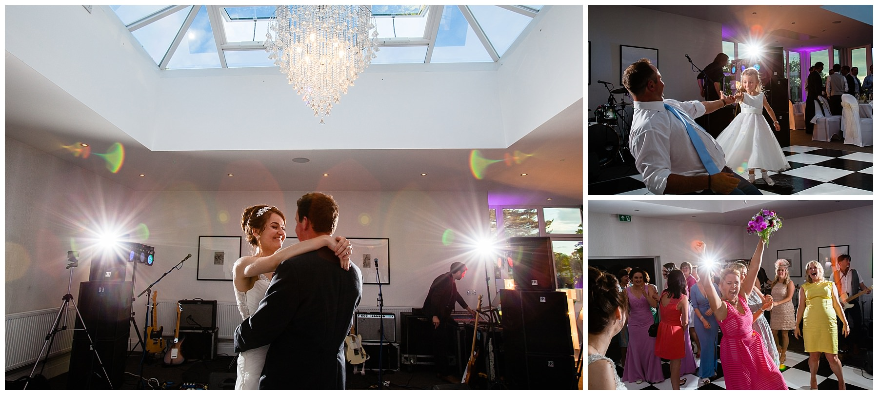 first dance bride and groom at tern hill hall hotel and combermere abbey, shropshire