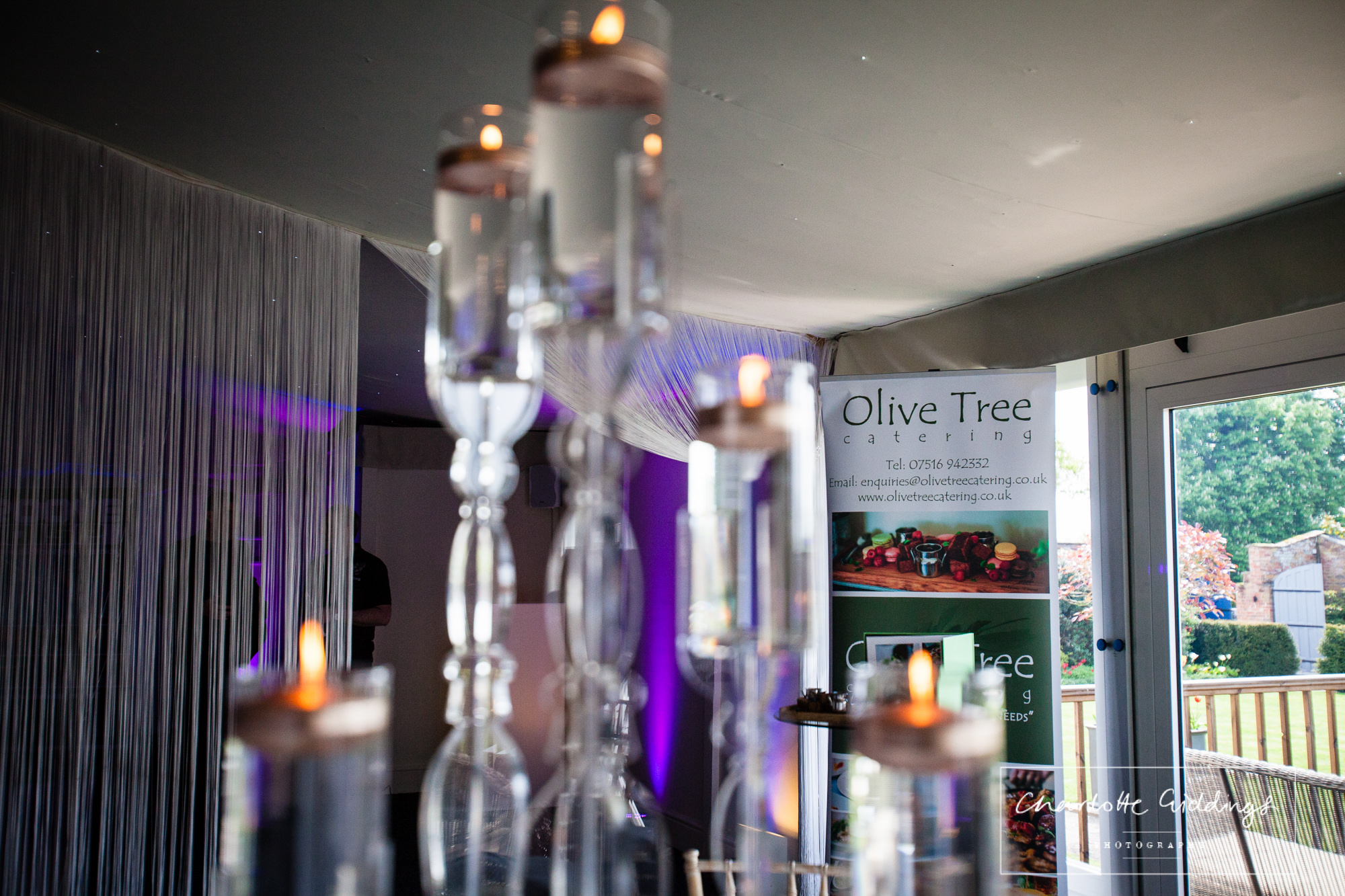 olive tree catering - combermere abbey