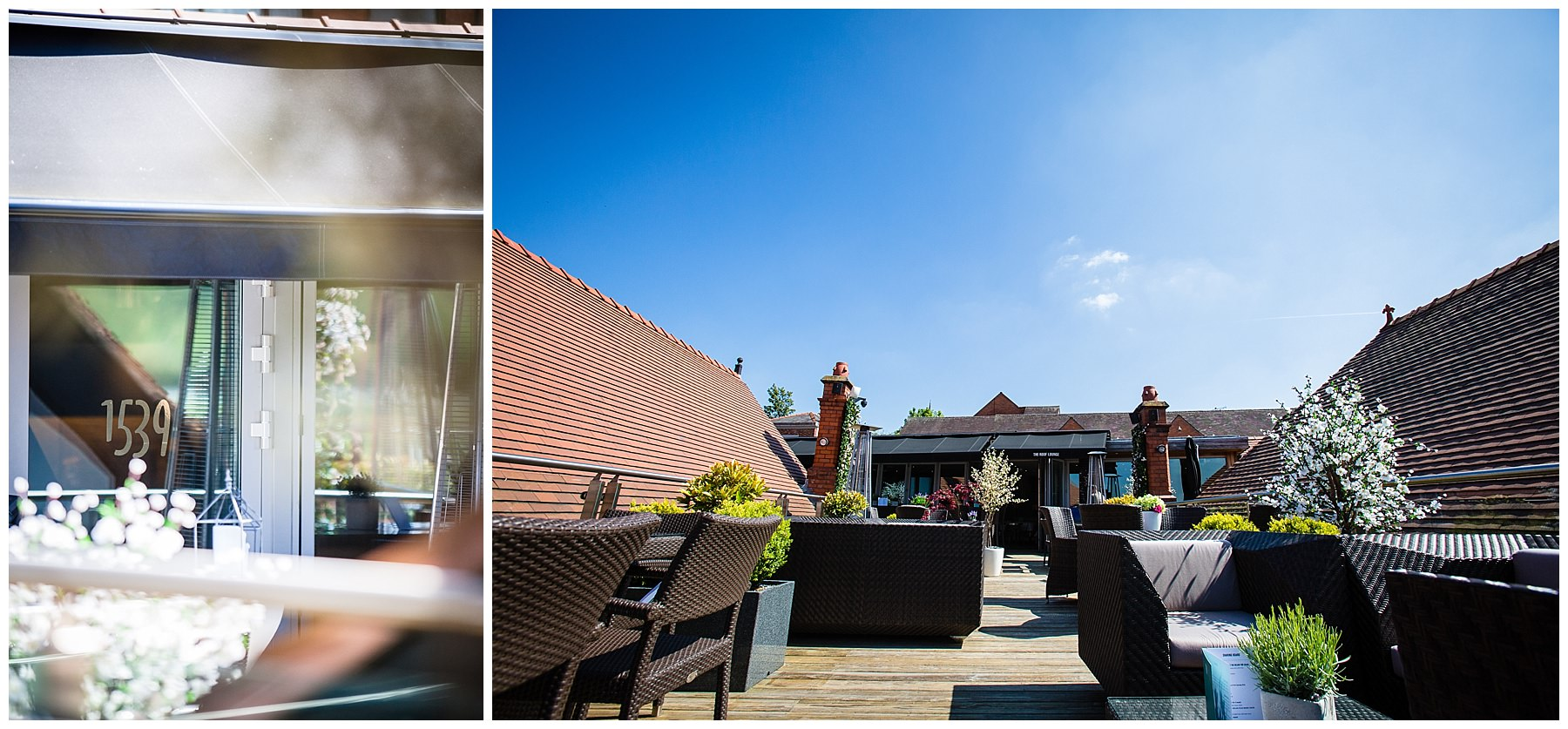 views of new roof terrace 1539 - chester event photographer