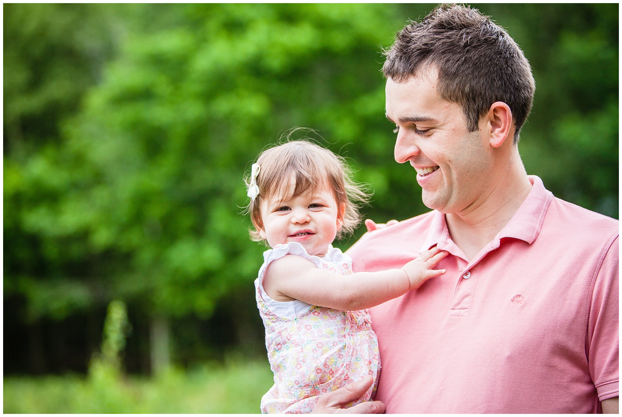 father and daughter moment - shropshire family photographer