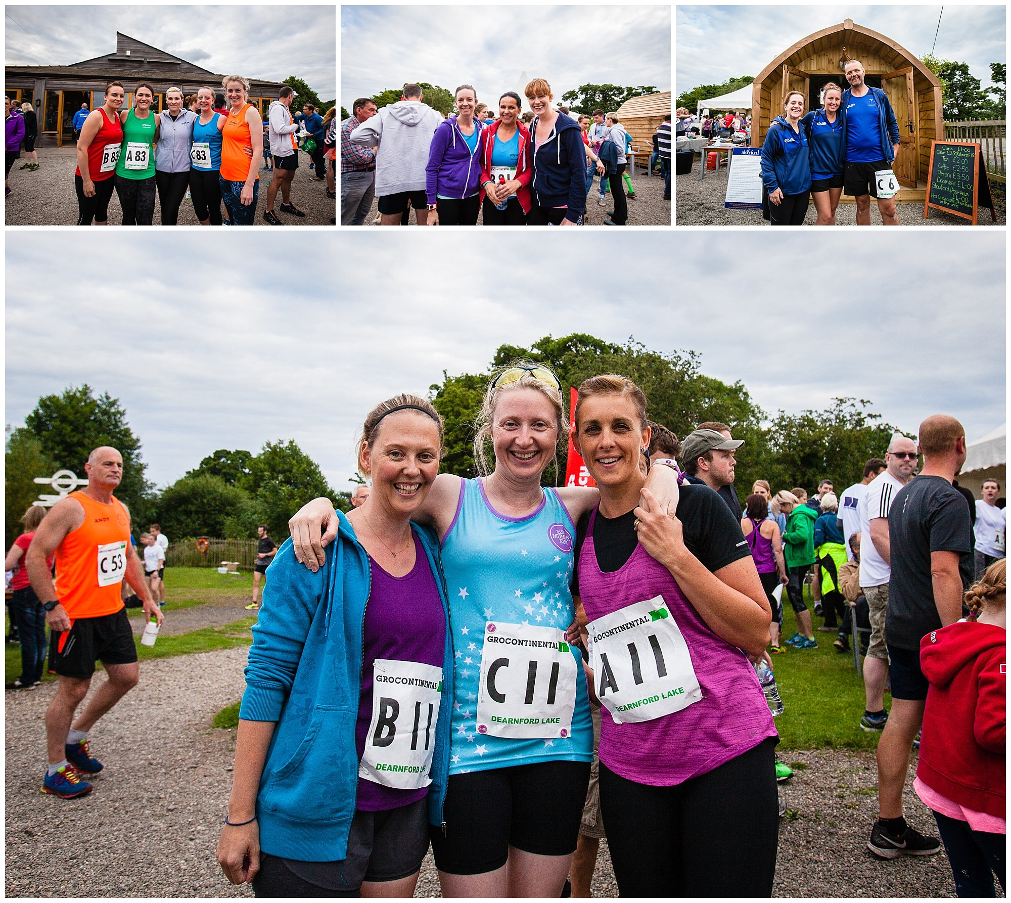 various team photos from alderford lake event photographer