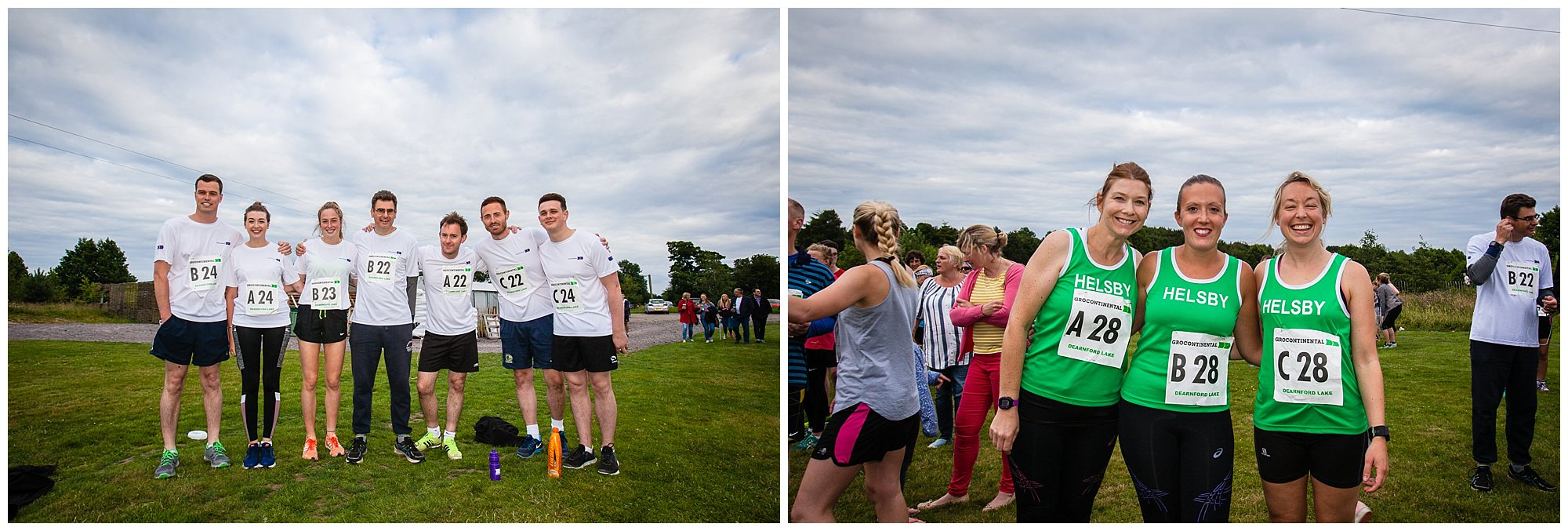 additional team photos near the adlerford lake start line - shropshire event photographer