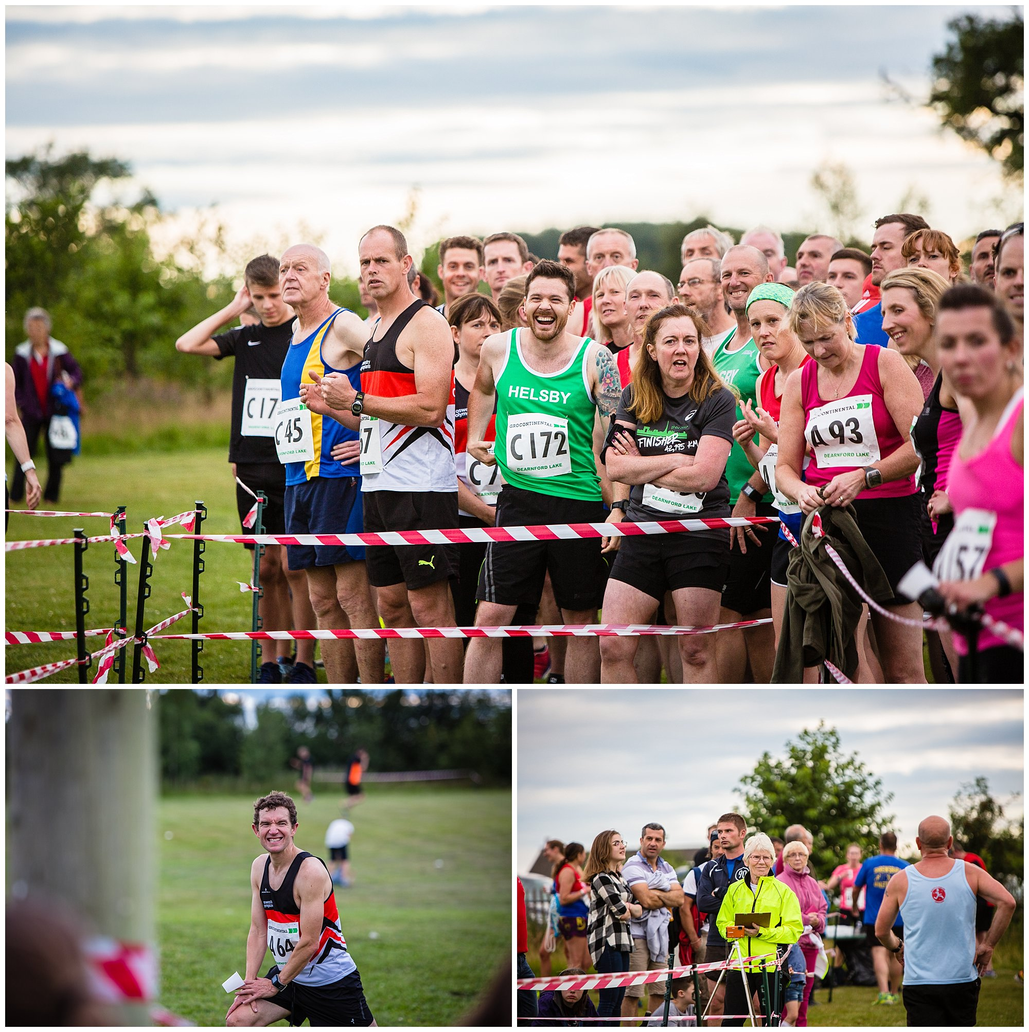 lots of supports at aldeford lake relay - shropshire event photographer
