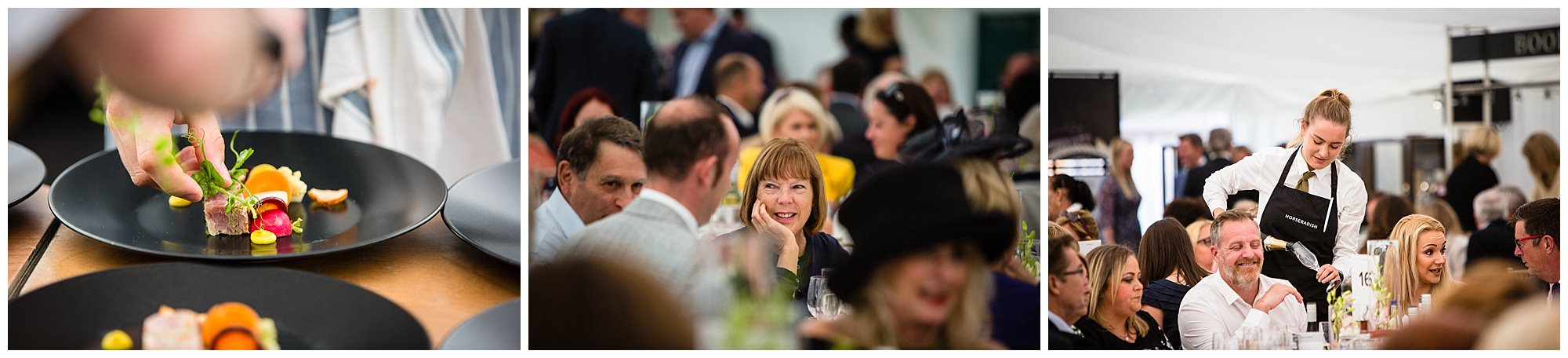 lady enjoying herself at the chester polo - charlotte giddings photography