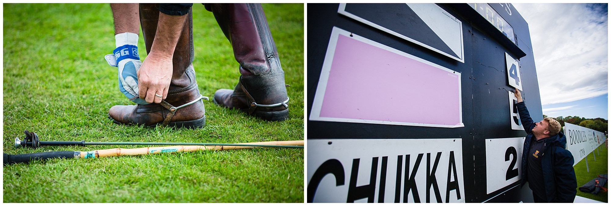 score board during a chukka - chester race course photographer