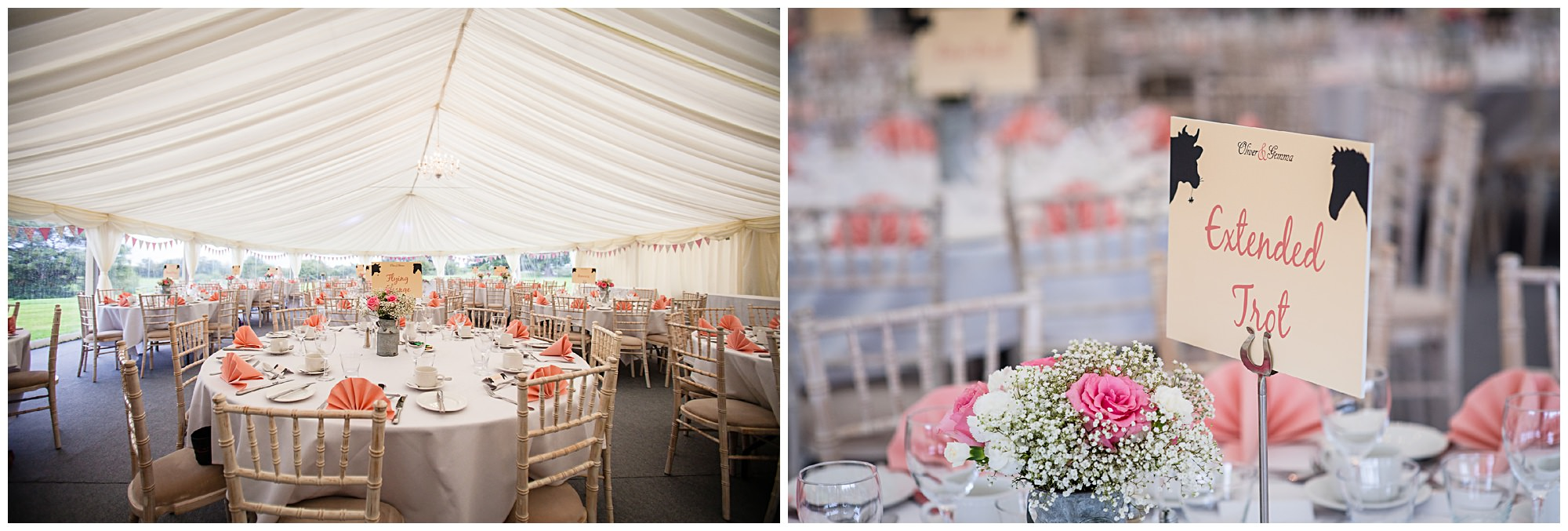 diy marquee wedding audlem cheshire