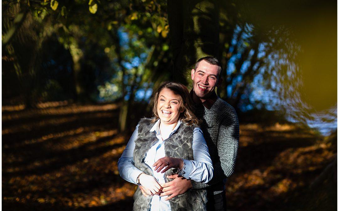 Kirsty + Luke – Colemere, Shropshire Engagement Photographer