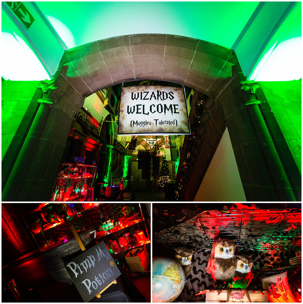 details shots of harry potter themed event - charlotte giddings photography