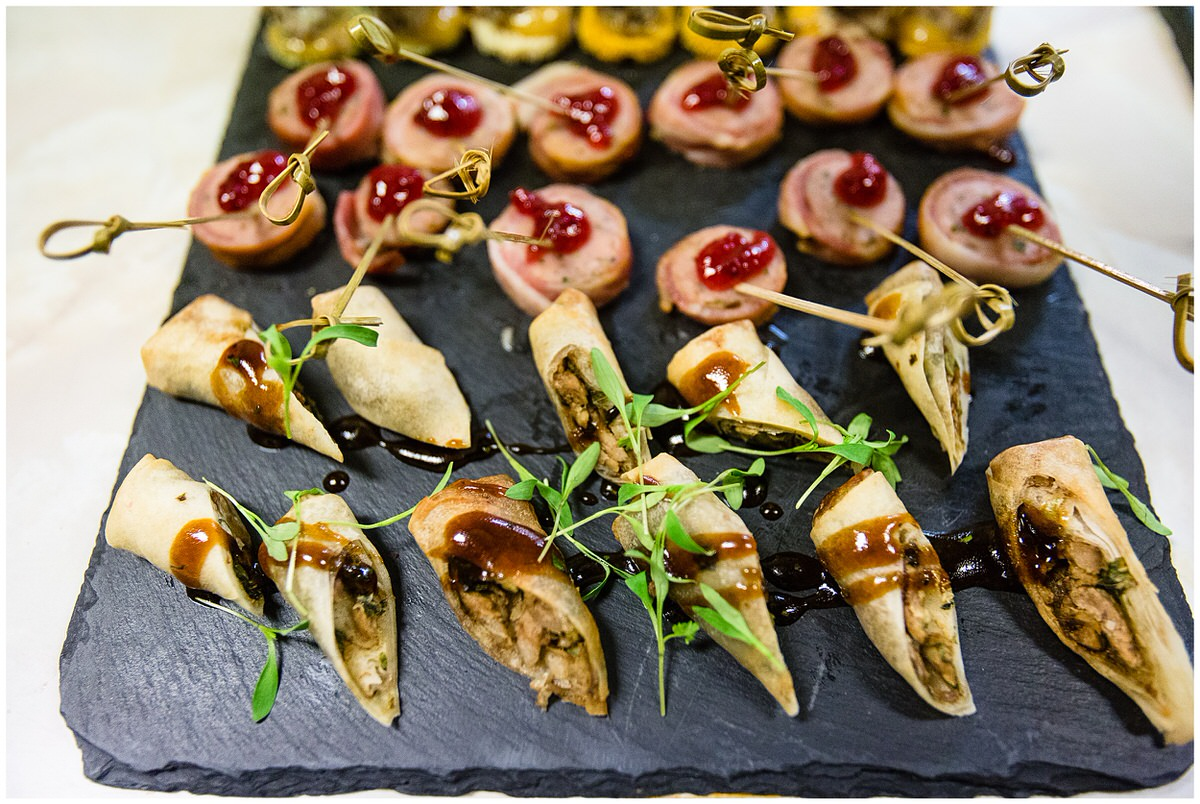 horseradish catering company - nibbles - chester town event food