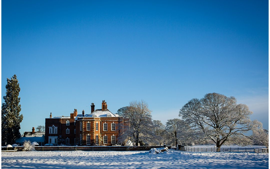 Shropshire Wedding Venues in the Snow