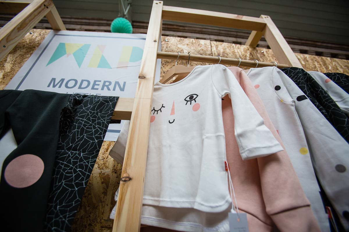 girls bespoke clothing at victoria baths manchester event