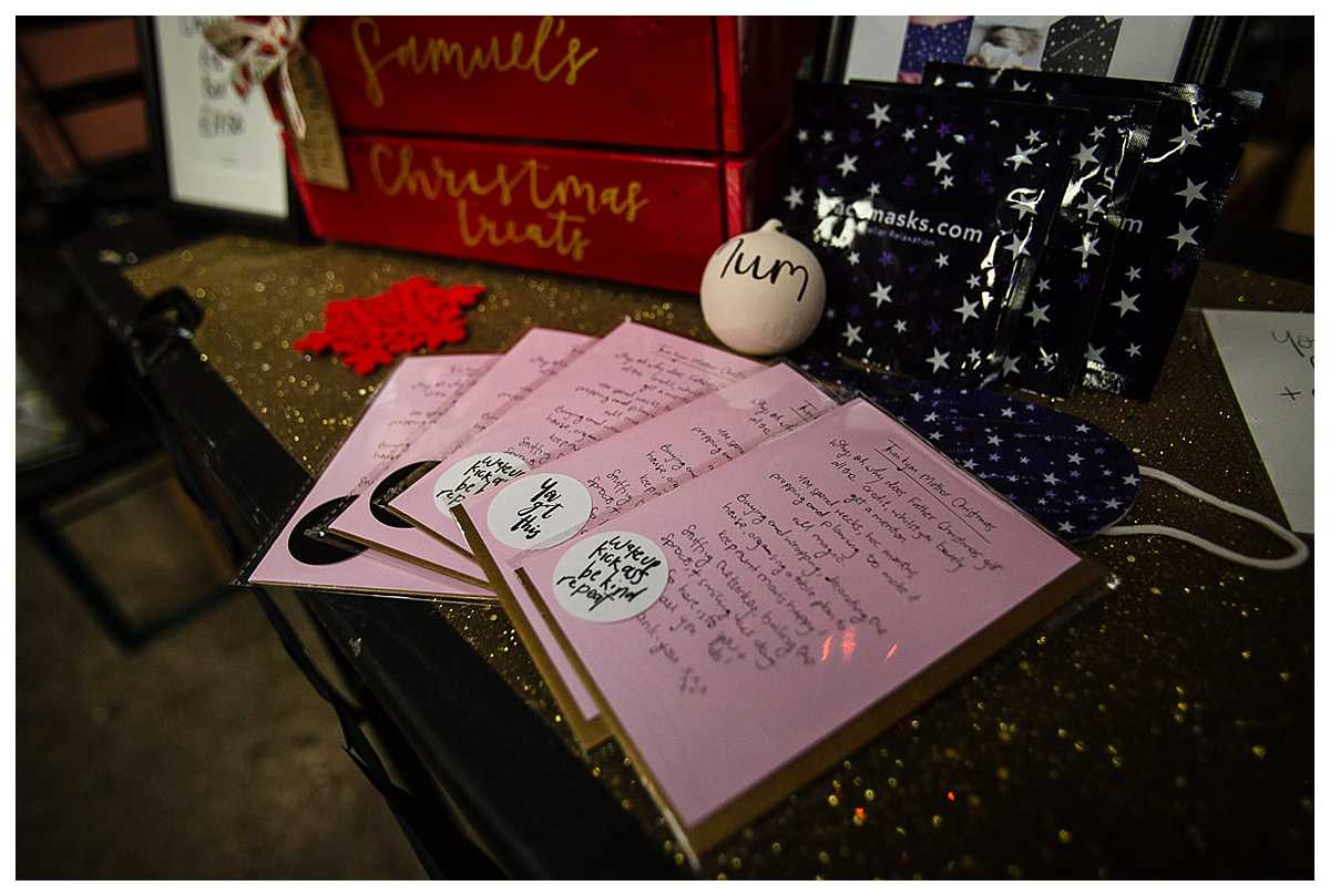 handmade cards with beautiful calligraphy writing