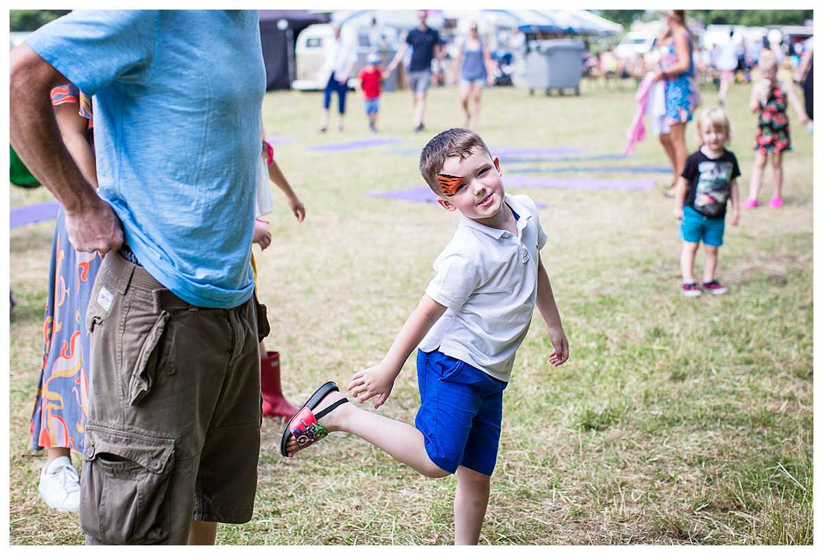 little boy dancing at outdoorsy one, wirral parentfolk