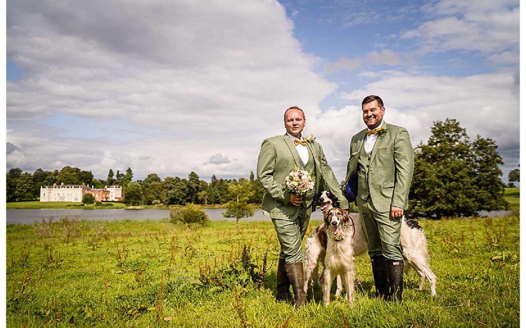 SNEAK PEAK: NIGEL + RYAN'S COMBERMERE ABBEY SUMMER WEDDING